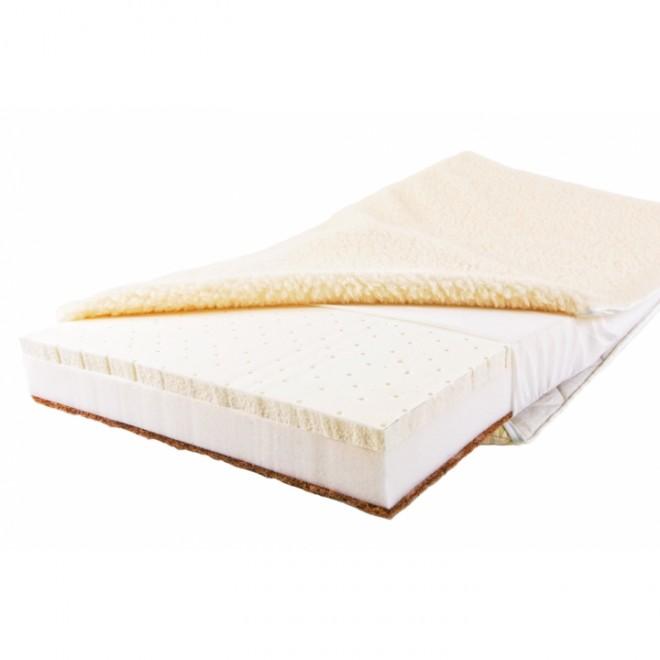 Детский матрас в кроватку BabySleep BioLatex Linen