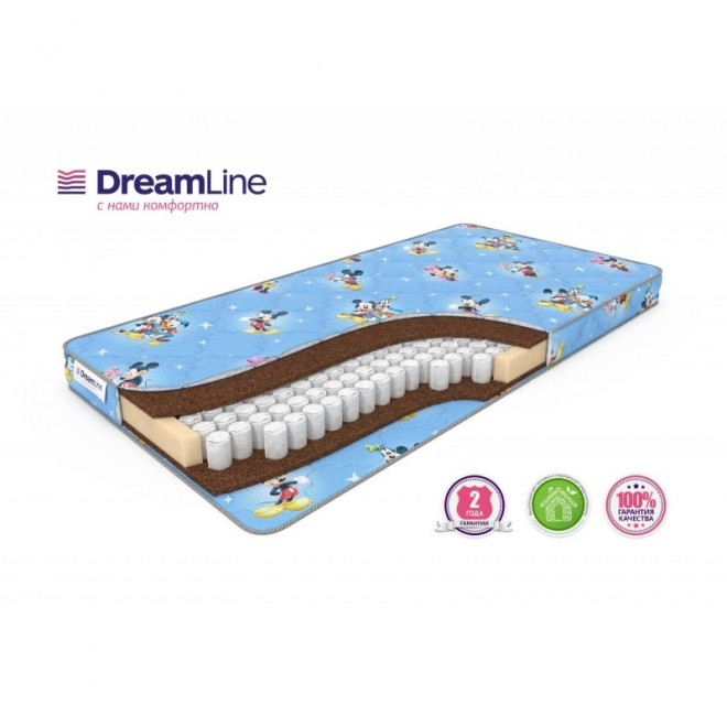 Детский матрас в кроватку Baby Dream TFK