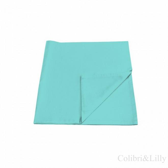 Наволочка в кроватку (цвет: бирюзовый)