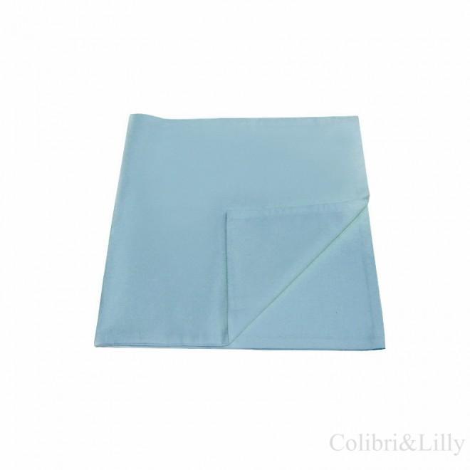 Наволочка в кроватку (цвет: бирюзово-голубой)