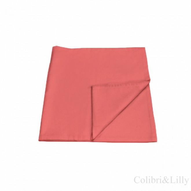 Наволочка в кроватку (цвет: карминно-розовый)