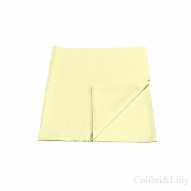 Наволочка в кроватку (цвет: лимонный)