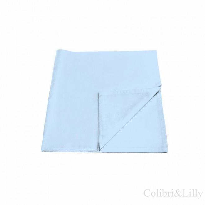 Наволочка в кроватку (цвет: нежно-голубой)