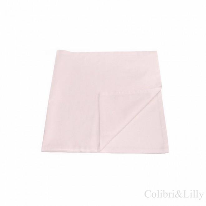 Наволочка в кроватку (цвет: нежно-розовый)