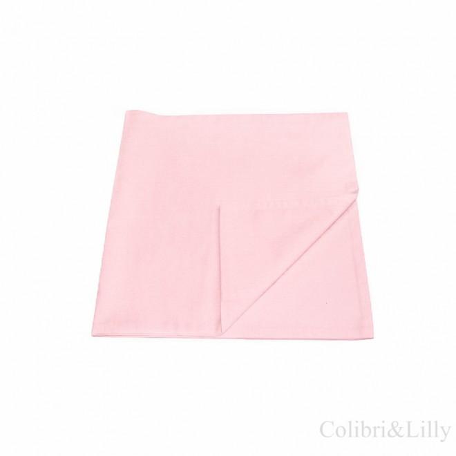 Наволочка в кроватку (цвет: светло-розовый)