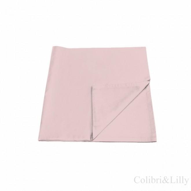 Наволочка в кроватку (цвет: теплый розовый)