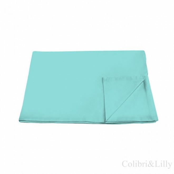 Пододеяльник в кроватку (Цвет: бирюзовый)