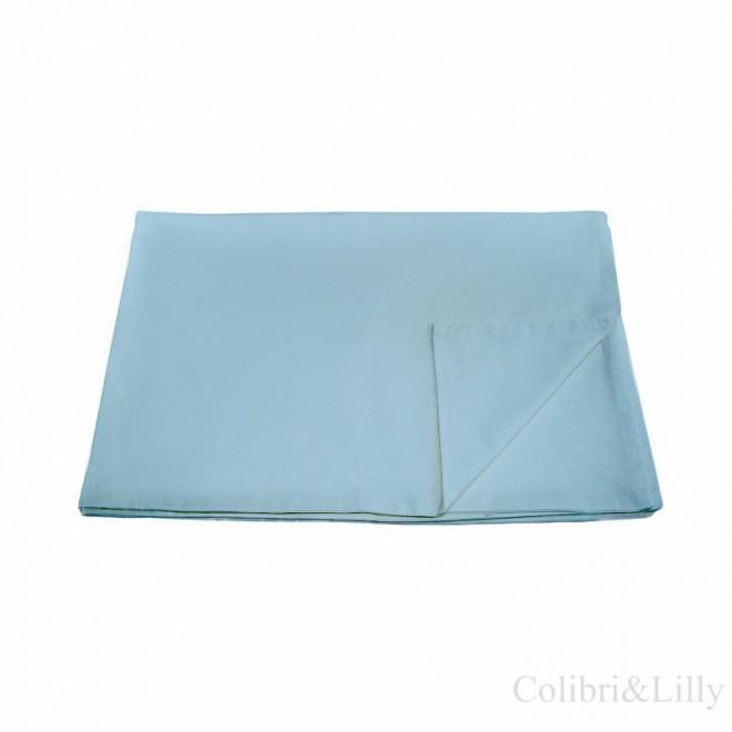 Пододеяльник в кроватку (цвет: бирюзово-голубой)