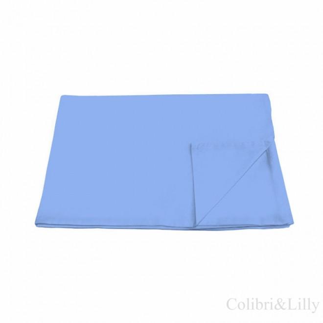 Пододеяльник в кроватку (цвет: голубой)