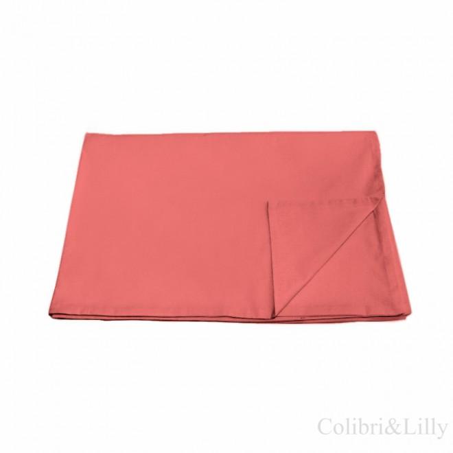 Пододеяльник в кроватку (цвет: карминно-розовый)
