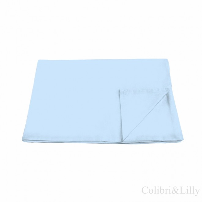 Пододеяльник в кроватку (Цвет: нежно-голубой)