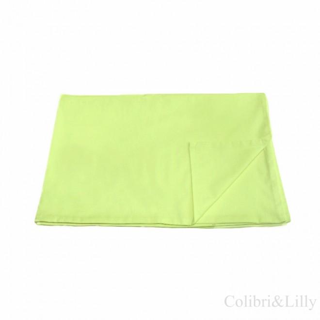 Пододеяльник в кроватку (Цвет: салатовый)