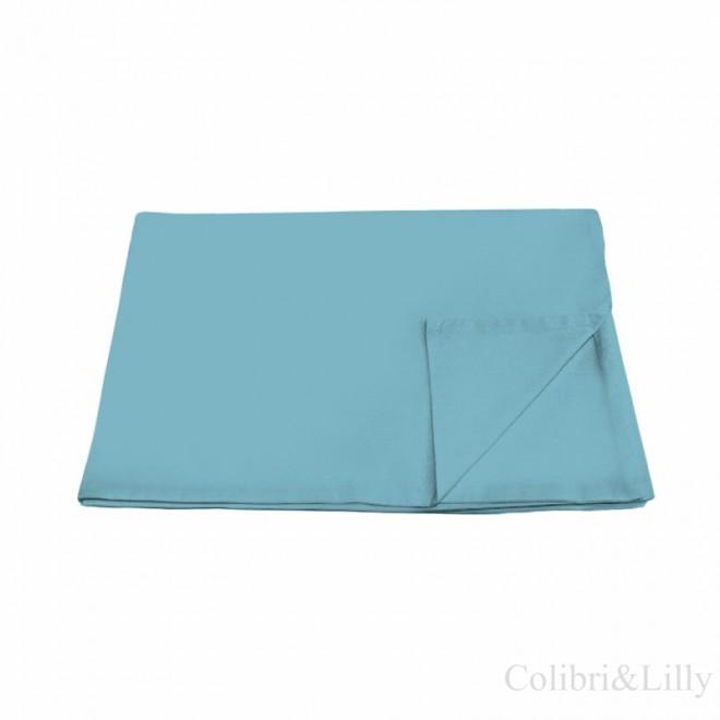 Пододеяльник в кроватку (Цвет: темно-бирюзовый)