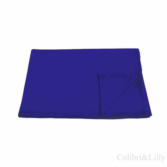 Пододеяльник в кроватку (Цвет: темно-синий)