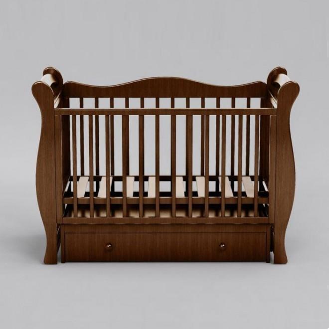 Детская кроватка-маятник Baby Luxe (3 цвета)